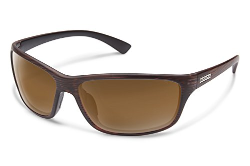 Suncloud Sentry Sunglasses, Burnished Brown Frame/Brown Polycarbonate Lens, One Size