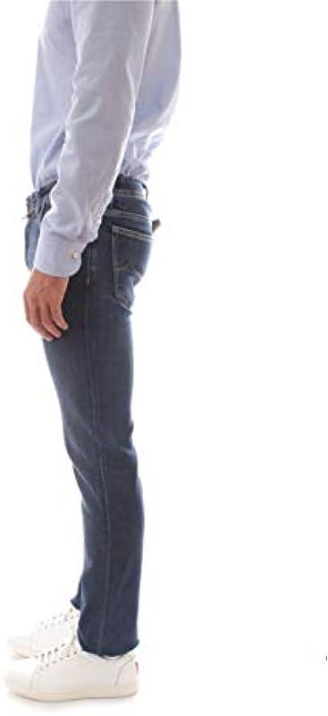Jacob Cohen męskie dżinsy Comfort niebieskie, J688 COMF 00709: Odzież