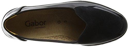Gabor Ladies Comfort Basic Derbys Nero (67 Nero)