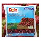 Dole Individual Quick Frozen Strawberry, 30 Pound -- 1 each.
