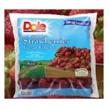 Dole Sliced Strawberry - Dry Sugar, 6.5 Pound -- 6 per case.