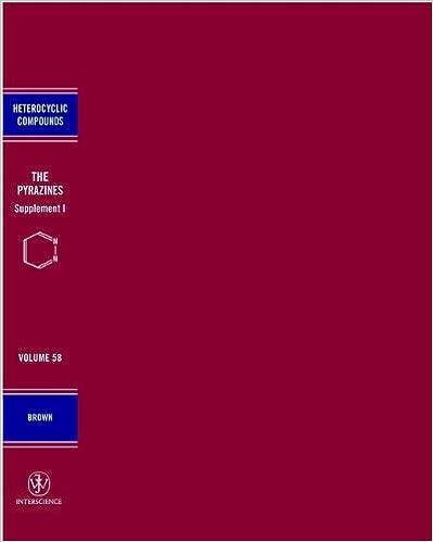 Chemistry of Heterocyclic Compounds The Pyrazines 2C