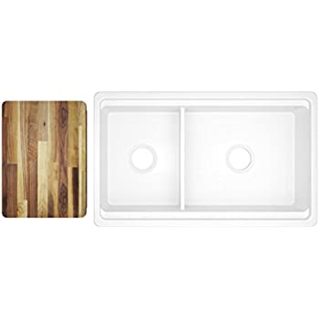 Rohl RC4019WH 39-1/2-Inch by 18-1/2-Inch by 10-Inch Deep