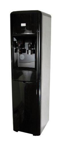 - Clover D16A Hot and Cold Stainless & Black High Capacity Water Cooler with S-54 filter
