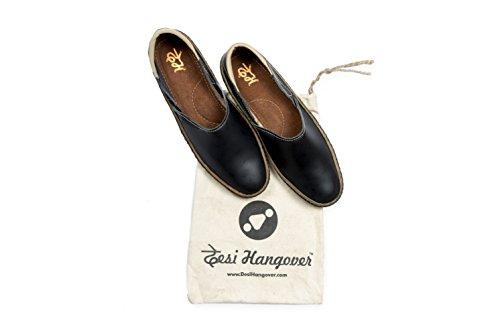 Puro Mano Hangover Zapatos A Cuero Natural Tibroncearse Mens Desi Hecho qnZEPRgqY
