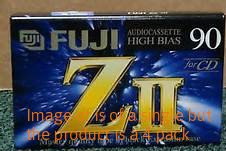 90 minute high bias blank tape- 4pk by Fuji