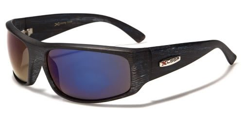 X Loop Mens / Womens / Unisex Athletic Sport Designer Fashion Sunglasses with UV400 Lens - Available in Black / Leopard / Orange / Red / Green / Purple - - Fake Oakleys Sunglasses