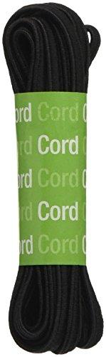 Dritz Elastic Cord (Dritz 9341B Oval Cord Elastic, Black, 2-1/2-Yard)