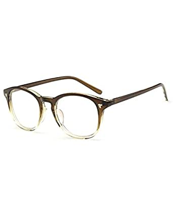 0df7b55e6e Lunette Vintage - Lunettes sans correction Small Olive: Amazon.fr ...