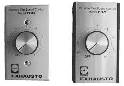 Lindemann 130101 Exhausto Motor Speed Control