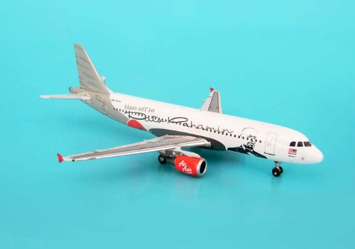 Phoenix Diecast 1 400 Ph517 Air Asia Hats Off You  Airbus Industries A320 200 By Phoenix Models Airplane