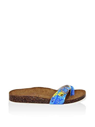 SUMMERY Sandalias de cuña  Azul EU 40