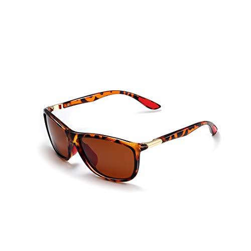 Sole Vista Sport Rettangolari K0611 Per Occhiali Kimorn Da Polarizzati Pesca Marrone Caccia Xdqxt