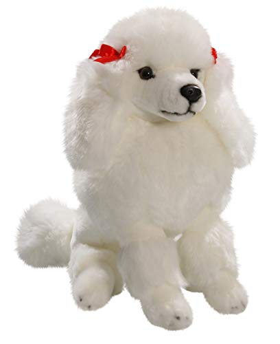 Amazon Com Carl Dick Poodle White 12 Inches 30cm Plush Toy Soft