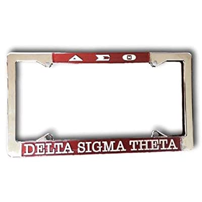 Delta Sigma Theta New Metal License Plate: Everything Else