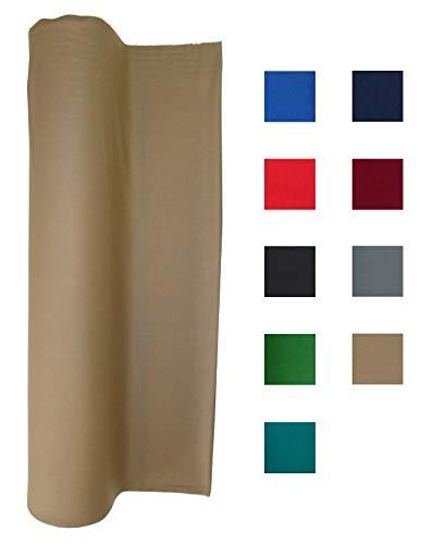 (Performance Grade Pool Table Felt - Billiard Cloth - for an 8 Foot Table Tan)
