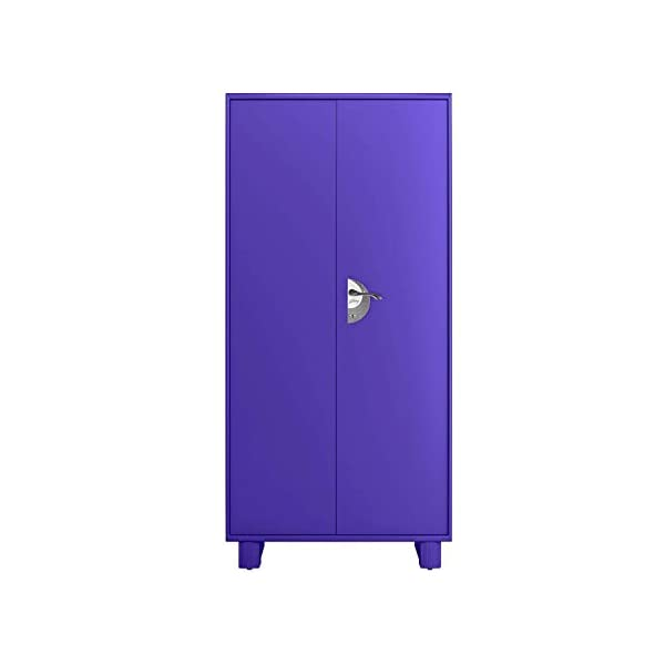 GODREJ INTERIO Storwel M2 Steel Almirah 2021 August The almirah comes with an elevated base because we understand that moving the whole cupboard every time your earring screw rolls under it is not possible. The almirah features a dedicated storage for everything from your clothing to jewelry to accessories and shoes. Separate compartments ensure that your storage looks neat at all times. An internal locker with a separate key means that you have another layer of security for your belongings. You can still have a private space even if you are sharing the almirah with another person.