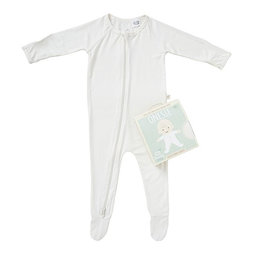 d8ac963917 Boody Body Baby EcoWear Long Sleeve Onesie - Soft Blanket Sleeper with Built  In Mittens made from Natural Organic Bamboo - Soft Breathable Eco Fashion  for ...