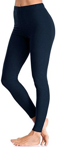 176012dde029c BAILYDEL Women's Ultra Soft Ankle Leggings Fashion Seamless Stretch Pants