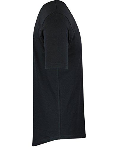 313daf7a8aeb ShirtBANC Mens Hipster Hip Hop Long Drop Tail T Shirts - Buy Online ...