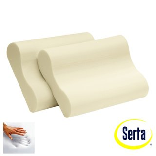 - Serta Memory Foam Contour Pillows (Set of 2)