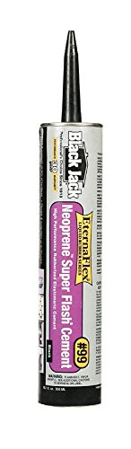 (Black Jack 10109066 10OZ 10 Oz Super Flash-Neoprene Rubber Flashing Cement)