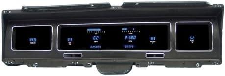 Dakota Digital Dash VFD3-68C-IMP-Z Compatible with 1968 Chevy Impala Caprice 6 Gauge Cluster System