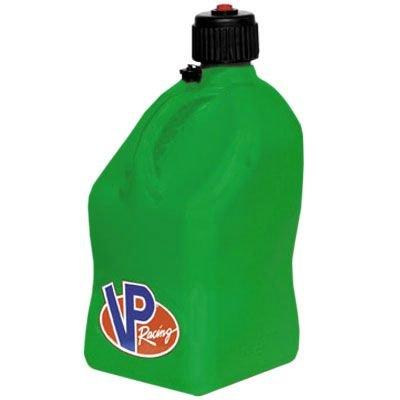 VP 5 Gallon Square Green Racing Utility Jug by VP Racing Fuels