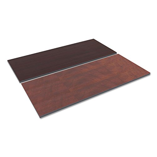 Alera TT7230CM Reversible Laminate Table Top, Rectangular, 71 1/2 X 29 1/2, Med Cherry/Mahogany