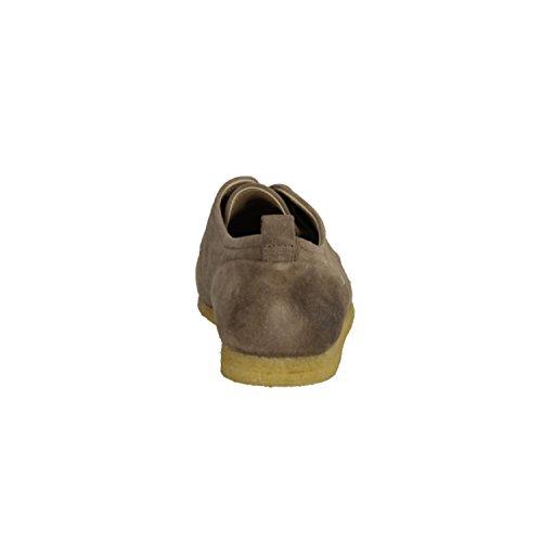 Kickers 412730-12- Herrenschuhe Sneaker/Schnürschuh, Beige, Blood (Leder)