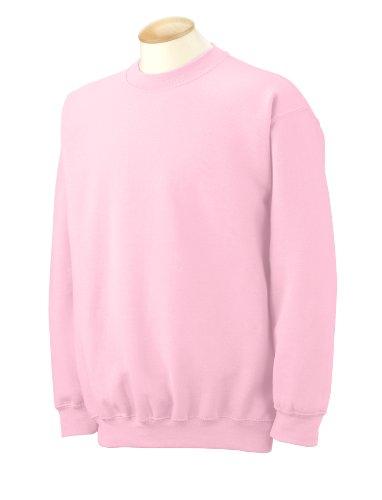 (Gildan Men's Heavy Blend Crewneck Sweatshirt - Small - Light Pink )