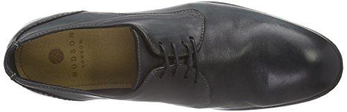 Black Derby Cordones de London Zapatos Dylan Hudson Hombre para Negro SwPqzv4