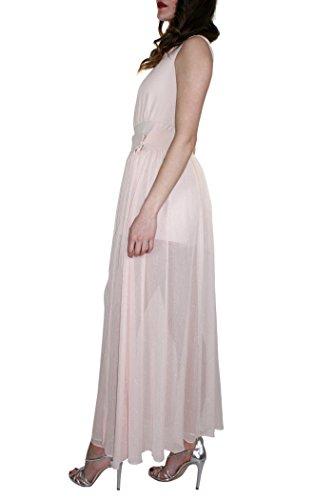 Rosa AHRAMBA M tuta jumpsuit Collezione 2018 Donna Primavera cipria abito IT KOCCA variante colore 10001 Estate t0wF5qwO