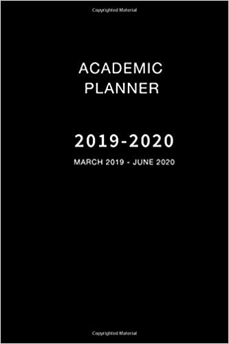 School Year Calendar 2020-16 Amazon.com: Academic Planner 2019 2020: 16 Month March 2019   June