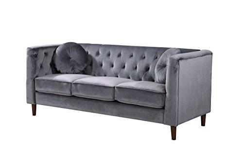 Amazon.com: Container Furniture Direct S5374-S Kitts Velvet ...