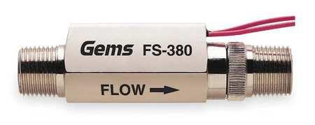 Liquid Flow Switch, Piston, SPST, 20VA