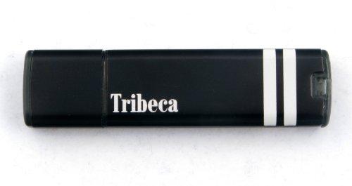 2 Gb Splash Drive - Tribeca FV01365 2GB Splash Drive - Black Racy