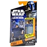 Star Wars 2010 Saga Legends Action Figure SL05 Jango Fett (With Poncho) by Hasbro