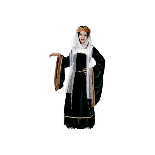 Desconocido Disfraz de dama medieval para niña: Amazon.es ...