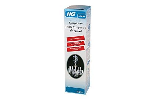HG 167050130 - Limpiador para lámparas de cristal. (envase de 0,5 L