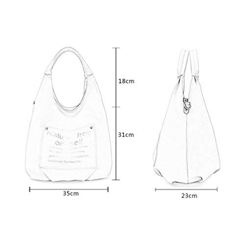 Style Ladies Toile Sacs Bleu CHENGYI Épaule Messenger Fashion Bag Crossbody Satchel Japonais Casual wXtpBUq