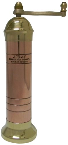 (Atlas Moderno Copper/Brass Salt Mill)