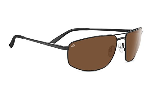 Serengeti Modugno Polarized Driver Sunglasses, Satin ()