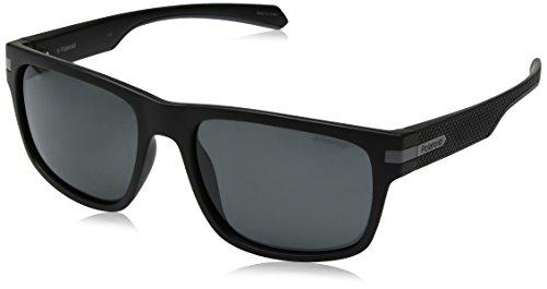 S Unisex Eyewear Polaroid de 2066 PLD Adulto Sol MTT Black 55 Negro Gafas Cp0txqdw