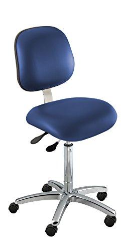 - BioFit Class 100 Chair, Ergonomic; Type O, Grade 2 Vinyl, Blue, Bench High 25-30