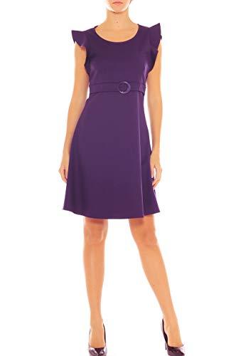 Scuro Vestido Magenta Mujer Para Collection Idea XZ1q77