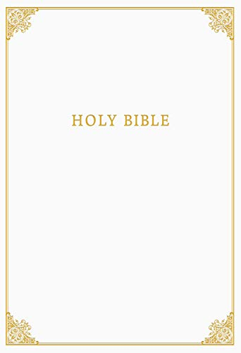 CSB Family Bible, White Bonded Leather Over Board