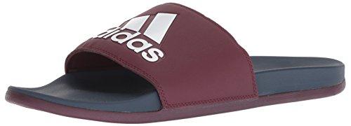 adidas Mens Adilette Cf+ Logo Slide Sandal