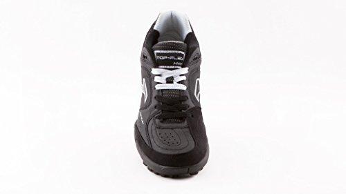 Zapatilla de fútbol sala Joma Top Flex Turf Black negro-blanco