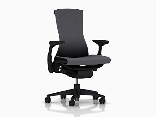 Herman Miller CN122AWAAG1G1BB3015 Embody Chair, Charcoal Rhythm (Furniture Herman Office Miller)